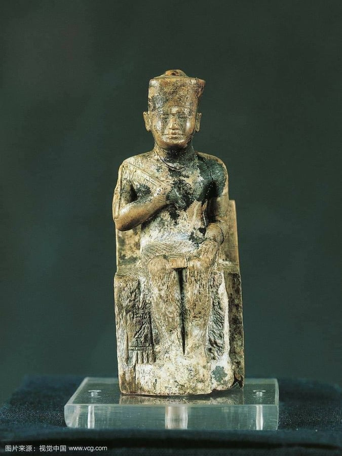 smallest statuette of king Cheops