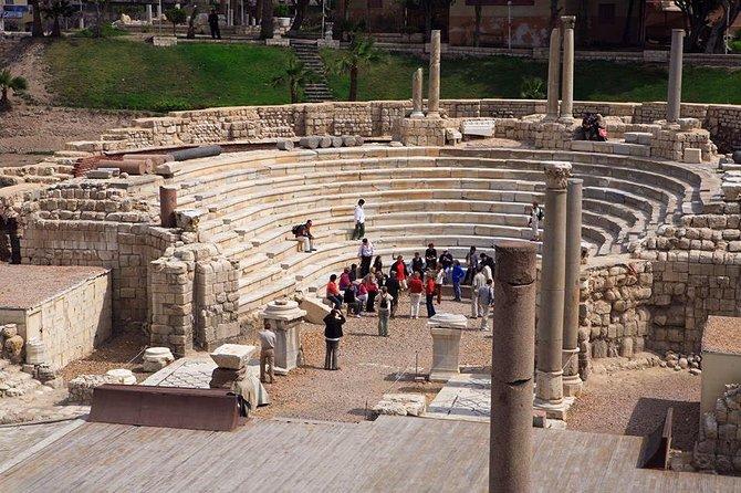 77 library, Roman theater, Qaitbay castle, El Nabi Daniel & Abbo Elabbas Mosque