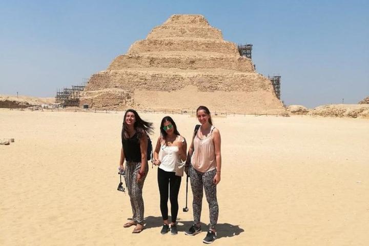 Giza Pyramids Sakkara Memphis and Dahshur tour