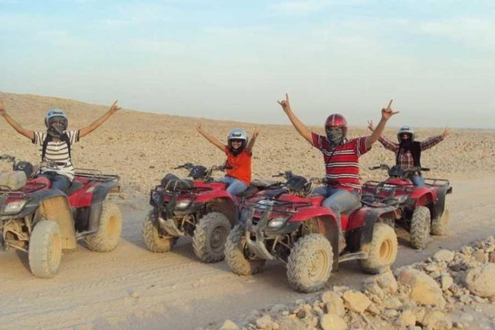 Sunrise Quad Bike Safari Trip in Luxor