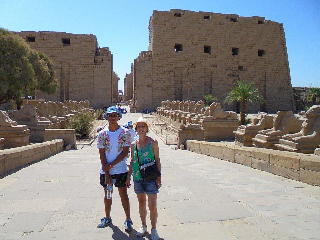 karnak temple with egyptbreezetours 9